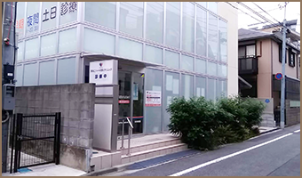 武蔵新田駅からお越しの方へ